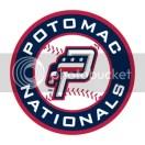 Potomac Nationals Team Logo