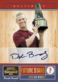 2011 Panini Contenders Dylan Bundy Autograph