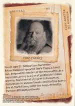 2012 Topps Allen & Ginter Tom Chance Code