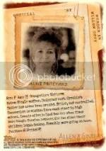 2012 Topps Ginter Code Jackie Pritchard