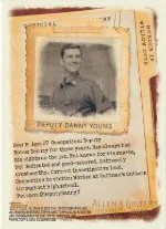 2012 Topps Allen & Ginter Code Danny Young