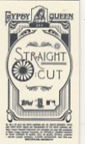 2012 Topps Gypsy Queen Straight Cut Back