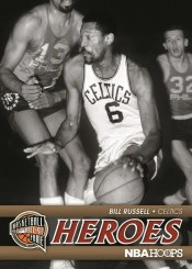 2011-12 Panini Hoops Bill Russell Hall of Fame Heroes