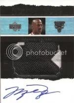 03-04 UD Exquisite Michael Jordan Limited Logos