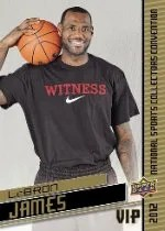 2012 Upper Deck National VIP LeBron James