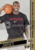 2012 Upper Deck National VIP LeBron James