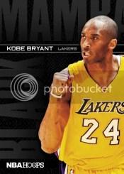 11-12 Panini Hoops Kobe Bryant Black Mamba Card