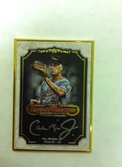 2012 Topps Museum Collection Cal Ripken Jr. Autograph