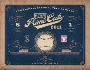2011 Panini Playoff Prime Cuts Baseball