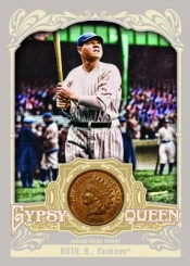 2012 Topps Gypsy Queen Babe Ruth Indian Head Coin