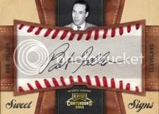 2011 Panini Contenders Baseball Bob Feller Autograph