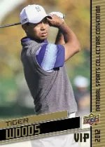 2012 Upper Deck National VIP Tiger Woods