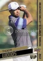 2012 Upper Deck National VIP Tiger Woods