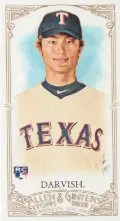 2012 Topps Allen & Ginter Yu Darvish Mini
