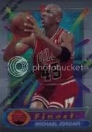 Topps Finest Michael Jordan