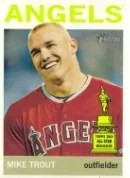 2013 Heritage Mike Trout Color Variation