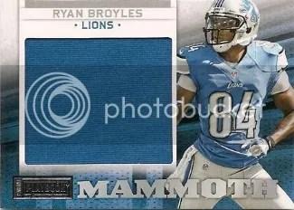 2012 Panini Playbook Mammoth Materials #31 Ryan Broyles