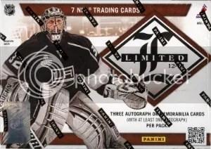 2012-13 Panini Limited Hockey Box