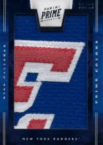 2011-12 Panini Prime Vertical Colors #57 Ryan Callahan #/12
