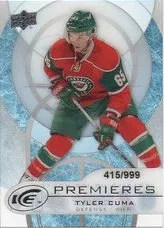 12/13 Upper Deck Black Diamond Ice Premiere Cards Level 3 #29 Tyler Cuma