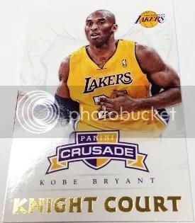 12/13 Panini Crusade Knight Court Kobe Bryant