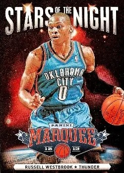 2012-13 Panini Marquee Stars of the Night Russell Westbrook