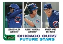 2013 Topps Archives Cubs Future Stars
