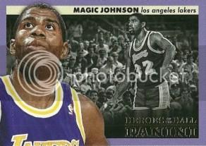 12/13 Panini Heroes of the Hall Magic Johnson