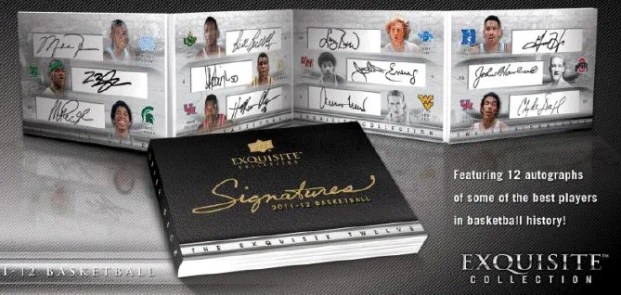 2011-12 Upper Deck Exqusite 12 Autograph Book