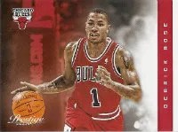 2012-13 Panini Prestige Derrick Rose Base Card #118