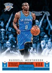 2012-13 Panini Prestige Stars of the NBA Russell Westbrook Card