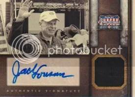 2012 Panin Americana Autograph Jersey Card Jack Lousma