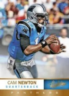 2012 Panini Absolute Memorabilia Football Cam Newton Base Card