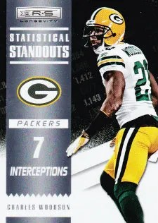2012 Panini Longevity Football Statistical Standouts #18 Charles Woodson