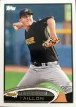 2012 Topps Pro Debut Jameson Taillon SP Photo Variation #220