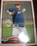 2012 Topps Pro Debut SP Photo Variation #128 John Lamb