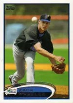 2012 Topps Pro Debut SP Photo Variation #160 Zack Wheeler