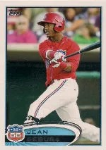 2012 Topps Pro Debut SP Photo Variation #45 Jean Segura