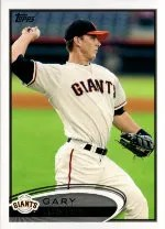 2012 Topps Pro Debut SP Photo Variation #52 Gary Brown