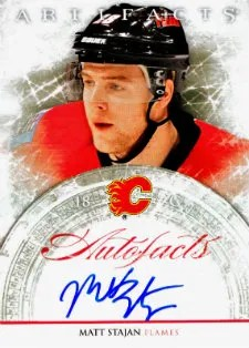 2012 Upper Deck Autofacts Autograph Matt Stajan