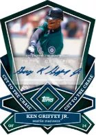 2013 Topps Series 1 Ken Griffey Jr. Cut to the Chase Autograph Card