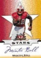 2013 Leaf Valiant Football Montee Ball Auto