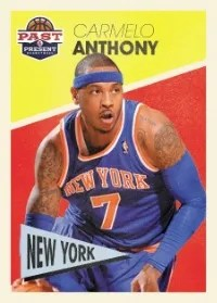 12/13 Panini Past & Present Carmelo Anthony Variation