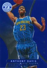 2012-13 Panini Totally Certified Anthony Davis Blue #/299