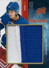 2011-12 Panini Prime Hockey Showcase #16 Tim Erixon #/35