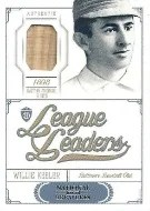 2012 National Treasures League Leaders