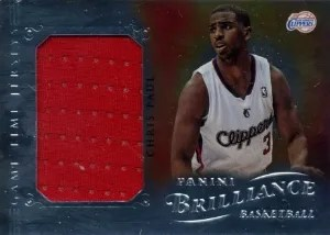 12/13 Panini Brilliance Game Time Jersey Chris Paul