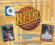 2012-13 Fleer Retro Basketball Box