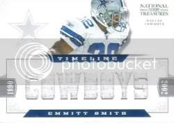 2012 NT Emmitt Smith Jersey #/22