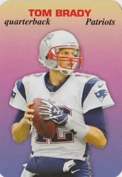 2013 Topps Archives Tom Brady 1970 Glossy